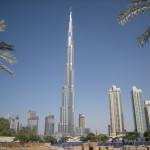 Skyline of Dubai with the Burj Khalifa Dominating