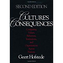 Geert Hofstede, Culture's Consequences