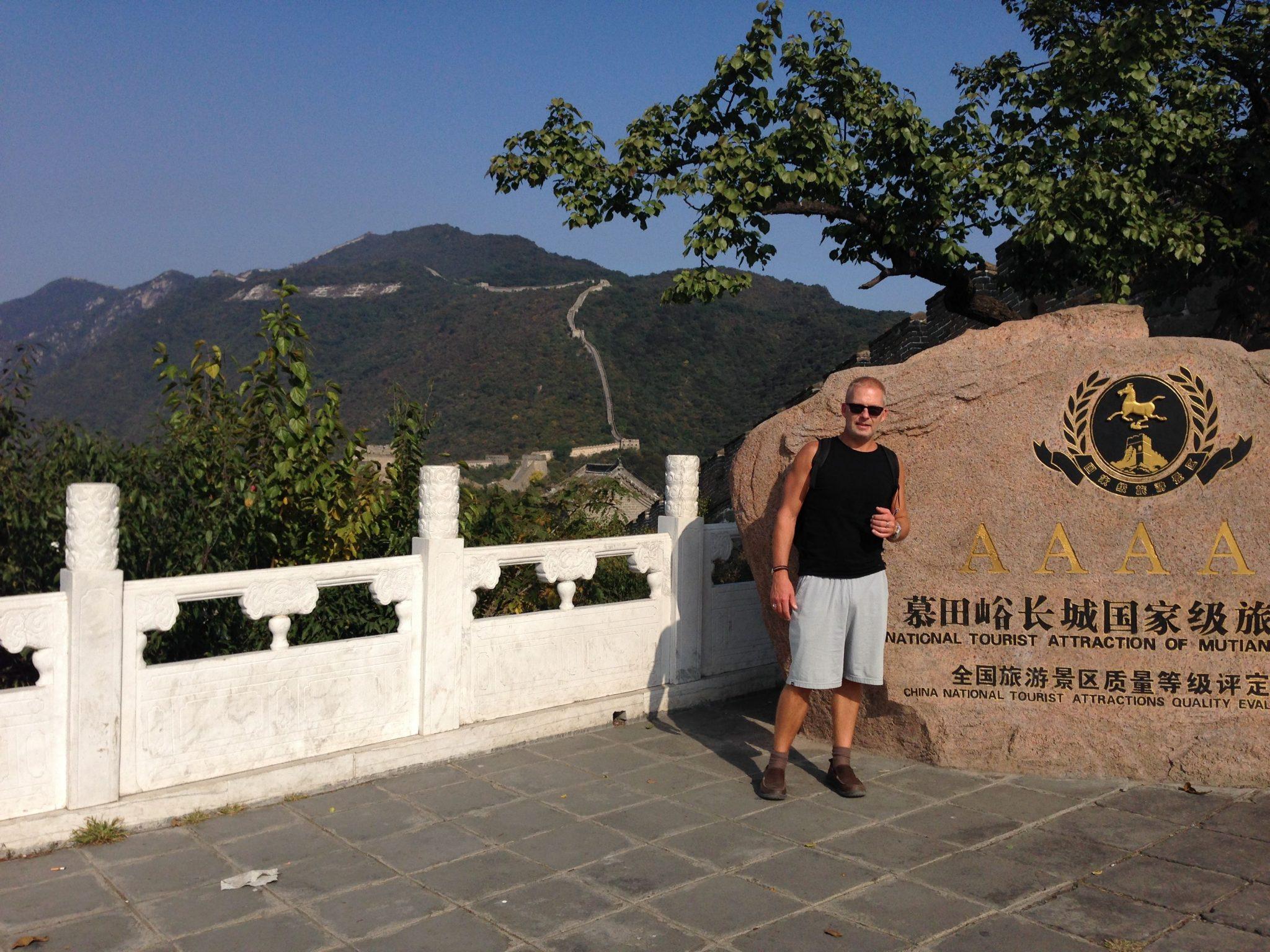 Chris Smit at Chinese Wall