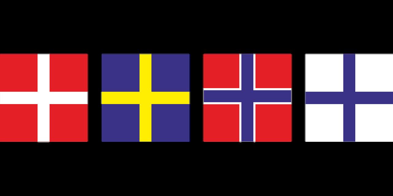 Nordic Culture flags