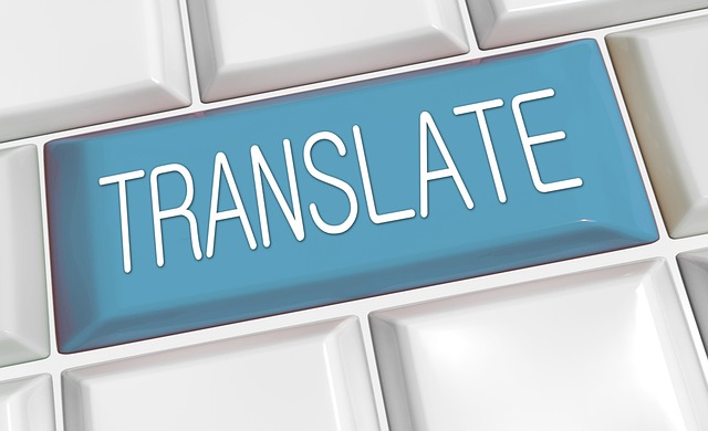 machine translation button